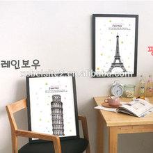 J063 Korean small pure and fresh wood adornment wall hanging art painting