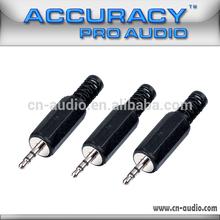 High Quality 1/8 Inch Audio Jack 3.5mm Stereo Plug QT114