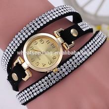 Diamond style ladies bracelet wrist watch