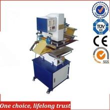 TJ-9 Heat Transfer Printing Method and Plate Usage Hot-Stamping Machine