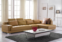 home use leather sofa furniture J823