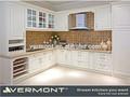 dimensões personalizadas pvc branco moldado armário de cozinha