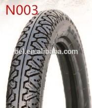 high quality motorcycle tyre 3.00-17 TUK TUK BAJAJ PATTERN