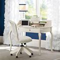 De fácilinstalación, el panel de mdf para el hogar moderno escritorio de oficina con una larga dibujar y pequeña cabina