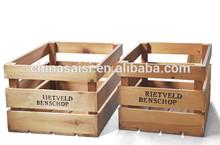 unique design wooden crates wholesale hot sale