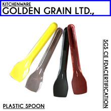 Tasting disposable plastic chocolate spoon