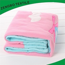 Most popular 100% polyester blanket overstock with low price