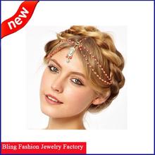 Fashion Beautiful design pearl hair accessories bridal hair accessories indian hair accessories