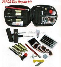 23 pcs Nylon Bag Car Tyre Puncture Motorcycle Tire Repair Kit