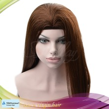Wholesale 100% human hair high quality Mongolian hair band fall