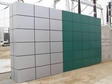 Factory Suppy decorative PVDF Aluminium Composite panel(ACP) in silver color