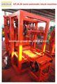 Baja inversión QTJ4-26 semi eléctrico - automático máquina de bloques de hormigón, Hueco - bloque de la máquina - inversión