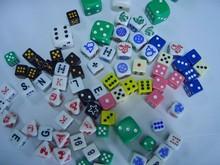 Big hot sale new luxury luminous acrylic dice
