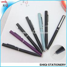 promotional hotel metal twist pen