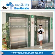 Paciente equipo de elevación / estable paciente / confiable médica ascensores ascensores