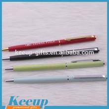 Popular Design Metal Twist Ball Pen Slim