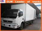 Made- in-china cargo van truck 4*2 cargo truck body van for sale