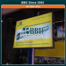 Low price scrolling new design high quality backlit billboard