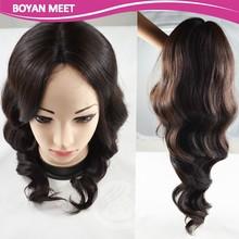 Body Wave 100% Brazilian Virgin Remy Human Hair Full Lace Wig