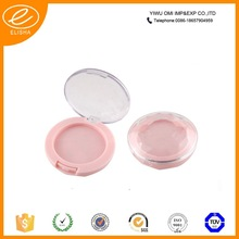 fashion double color empty plastic eyeshadow case
