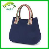 Euro leisure reusable shopping bags cheap tote bag high-quality small canvas tote bag