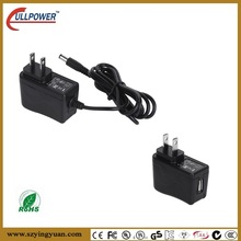 US EU AU UK plug ac adapter 5v 500ma with UL FCC CE GS SAA KC PSE approved