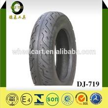 Deji various pattern motorcycle tyres manufacturer three wheels scooter tires 130/70-12