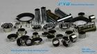 Self Lubrication DU flange Bushing,LFF-0607 Composite Metal Polymer Door Hinge Bush for AUTO parts