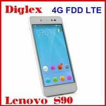 Original Lenovo S90 Mobile Phone Quad Core MSM8916 Android 4.4 4G FDD LTE Cell Phone 5 Inch Dual Sim Card 1GB RAM 16GB ROM 13MP