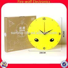 terracotta circle of friends gifts candle holder Shenzhen Guangzhou Spider-man Wall Clock Supply Advertise Spider-man Wall Clock