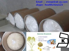 China supplier natural gamma Oryzanol 99%, Rice bran extract gamma oryzanol powder in China
