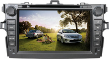 <YZG>8 inch Touch Screen Auto DVD Stereo for Toyota Corolla Axio