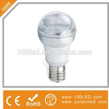 energy saving 4.5w led bulb crystal appearance elegant design