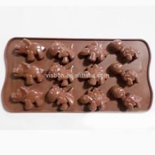 gıda sınıfı özel sevimli dolu ejderha silikon sabun kalıbı