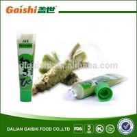 2015 Best Sale High Quality Halal Products Wasabi Powder 43g Wasabi In Tube