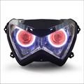 Motorrad führte projektorlampe led scheinwerfer montage Teil für z800 2013-2014