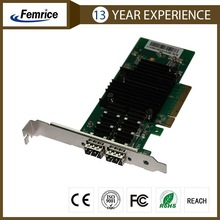 2XSFP Dual sfp connector ,intel82599ES Chip 10g network adapter,pci express x16 adapter