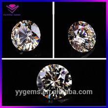 High quality syntehtic round brilliant cut wholesale- moissanite white diamond