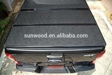 hot china products wholesale hard tri fold tonneau cover for dodge ram 1500