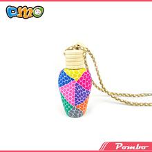 Latest Factory Direct Sale Fancy heart shaped crystal wedding favor perfume bottle