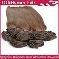Elegante cabelo produtos venda quente brasileiro grau 5a 100% remy cabelo castanho escuro cor de imagens
