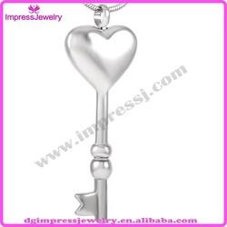 IJD8038 Alibaba china market key shape pet cremation urn jewelry