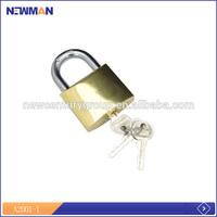durable half brass half iron cylinder barrel lock key