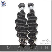 Unprocessed hair weft brazilian virgin hair new jersey hair