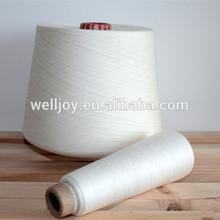 Well joy 402 503 100%polyester spun yarn raw white