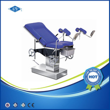 HFMPB06B Hydraulic Obstetric Delivery Surgical Table / Gynecology Operating Room Table / Obestetric and Gynecology Beds