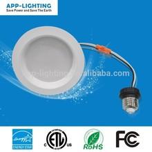 """USA and Canada market 4"""" LED recessed trim retrofit kit ETL Energy Star 4"""" trim led retrofit kit CRI 90"""