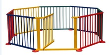 factory-price wooden color baby play pen