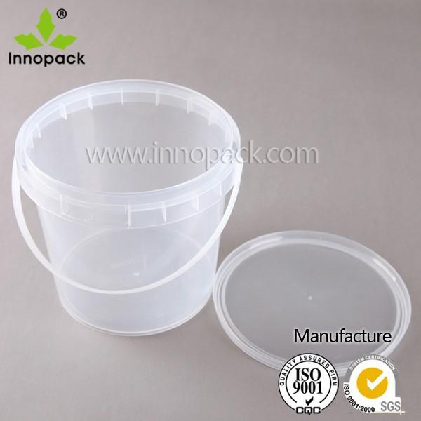 gro handel 5l transparent pp kunststoff eimer popcorn mit. Black Bedroom Furniture Sets. Home Design Ideas