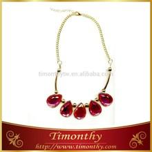 Women Imitation jewelry ornament handmade collar necklace